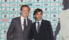 فالدانو: راؤول يمكنه ان يكون مثل غوارديولا او سيميوني في ريال مدريد