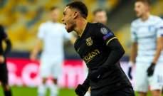 ارقام واحصاءات بعد مباراة برشلونة ودينامو كييف
