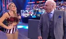 لايسي ايفانز تبتعد عن WWE بسبب حملها