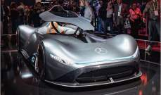 سيارة مرسيدس مستقبلية