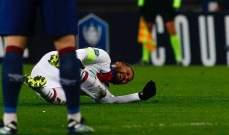 شكوك حول مشاركة نيمار أمام برشلونة بعد إصابته