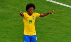 ويليان: غابرييل خيسوس مهم للبرازيل كما فيرمينو