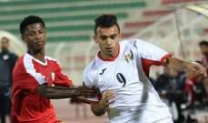 الاولمبي الاردني يخسر وديا امام سلطنة عمان