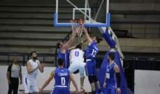 ابرز احصاءات الفرق اللبنانية بعد انتهاء المرحلة الثانية  من دوري السلة