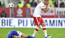 كميل غليك راضِ عن التعادل امام إيطاليا
