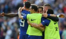 كأس الاتحاد الانكليزي : تعادل بين توتنهام وتشيلسي