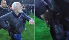 الشرطة اليونانية تعمل على اعتقال رئيس باوك