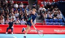 بطولة طوكيو للتنس: غوفين يواجه ديوكوفيتش في نصف النهائي
