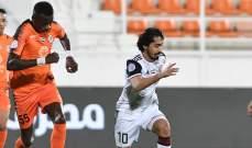 الدوري الاماراتي: فوز قاتل لبني ياس على النصر وتعادل عجمان مع الجزيرة