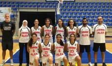 """بطولة """"فيبا"""" لتحدي المهارات الفنية لكرة السلة:آنسات لبنان دون 17 سنة في المجموعة الثالثة"""