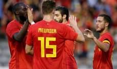 ودياً - فوز مستحق لـ بلجيكا على مصر