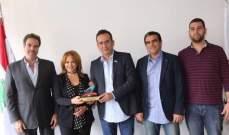 رئيسة الاتحاد التونسي للتنس في لبنان