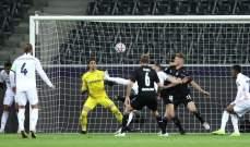 إحصاءات من مباراة بوروسيا مونشنغلادباخ - ريال مدريد
