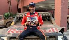 العطية : سعيد بحصولي على الوصافة في أول مشاركة لي في سباق باها المكسيك