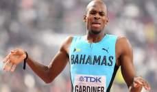 ذهبية 400 متر جري لغاردينير وبرونزية للمغرب في 3000 متر موانع