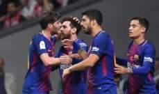 الليغا : فوز هزيل لـ برشلونة على بلد الوليد في الكامب نو