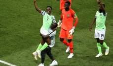 احمد موسى افضل لاعب في مباراة نيجيريا وايسلندا
