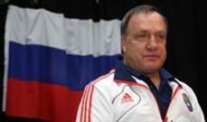 مدرب روسيا يهنئ اليونان ويشيد بأداء لاعبيه