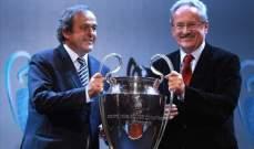 دوران عجلة دوري ابطال اوروبا بعد انتهاء يورو 2012 مباشرة