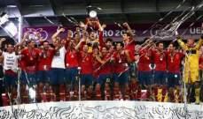 ماذا فعل لاعبو برشلونة، ريال مدريد وتشيلسي اثناء احتفالات لاروخا؟