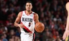 NBA: بورتلاند الى النهائيات ويوتا على بعد خطوة