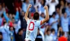 سيلتا فيغو يجدد عقد نجمه اسباس حتى 2017