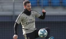هازارد يتواجد في تدريبات ريال مدريد