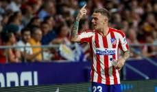 لاعب أتلتيكو قبل موقعة برشلونة: نملك الثقة وأتينا إلى هنا من أجل الفوز