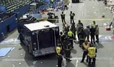 انفجاران يهزان خط نهاية سباق الماراتون في بوسطن
