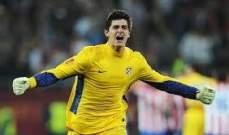 كورتوا يتوعد برشلونة