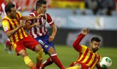 نيمار يمنع فيا من تحقيق مبتغاه و ينقذ برشلونة من فخ أتلتيكو مدريد