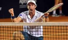 ريو 2016 :بيلوتشي يتقدم الى الدور الثالث ضمن منافسات كرة المضرب