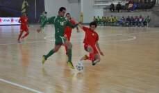 منتخب لبنان لكرة الصالات بانتظار الدعم الجماهيري نهار السبت والاحد