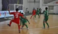 خسارة منتخب الارز في كرة الصالات امام العراق