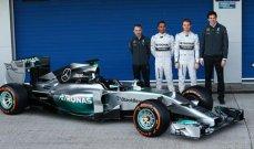 مرسيدس قدمت سيارتها الجديدة للفورمولا 1