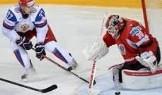 سلوفاكيا تقع ضحية المنتخب السلوفيني  في مسابقة الهوكي على الجليد