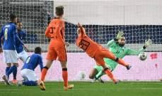 ارقام واحصاءات من مباراة هولندا وايطاليا في دوري الامم الاوروبية
