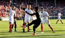 وديا: ليفربول يسقط امام اشبيلية وبوردو يتخطى مونبيليه ومارسيليا يفوزعلى سانت إيتيان