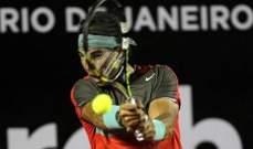 نادال يبدأ تدريباته استعدادا لبطولة ريو دي جانيرو