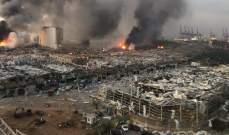 الاندية اللبنانية لكرة القدم تتضامن مع المتضررين من انفجار بيروت