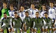 التشكيلة النهائية لمنتخب البوسنة