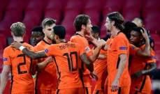 احصاءات مباراة بولندا وهولندا في دوري امم اوروبا