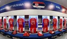 التشكيلة الرسمية للقاء سويسرا وصربيا