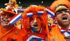 التشكيلة الرسمية لهولندا ضد لاتفيا