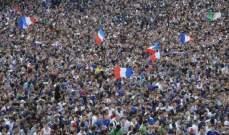 انطلاق الشوط الثاني من مباراة فرنسا وبيرو