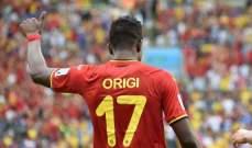 رسميا- ليفربول يضم اوريجي مقابل 10 ملايين جنيه استرليني