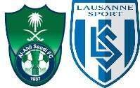 الأهلي السعودي يلتقي اليوم وديا مع فريق لوزان السويسري