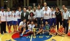 سيدات نادي هومنتمن(بيروت) يحرزن بطولة الدرجة الثانية في كرة السلة