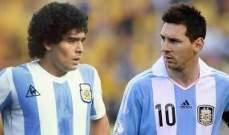كريسبو يتجنب مقارنة ميسي بـ دييغو مارادونا