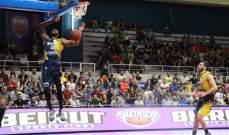بيروت يقهر الرياضي بـ 15 نقطة ويجره لمباراة سادسة في السلسلة النهائية